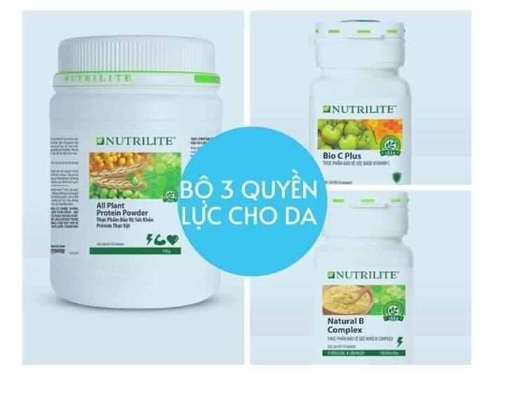Thực phẩm bảo vệ sức khỏe Nutrilite Amway hỗ trợ Da mạnh mẽ