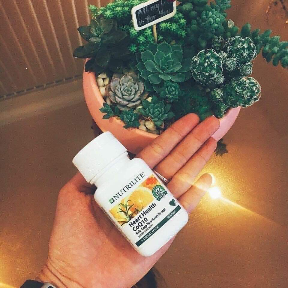 CoQ10 Amway Nutrilite Heart Health CoQ10 để trái tim khỏe mạnh