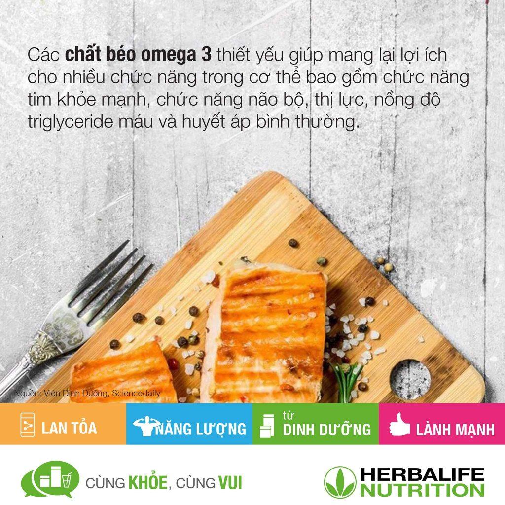 Herbalife : Hiểu biết đúng về chất béo